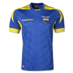 Ecuador 2014 Authentic Away Soccer Jersey
