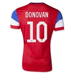 USA 2014 Landon Donovan Away Soccer Jersey