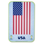 USA 2014 FIFA World Cup Brazil(TM) 11 x 17 Decal
