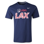 Nike USA Lacrosse Cotton T-Shirt 2