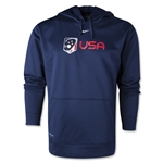 Nike USA Lacrosse Therma-Fit Hoody