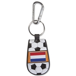 Netherlands Flag Soccer Key Chain