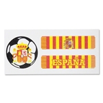 Spain Sport Strips Eyeblacks Four Pair