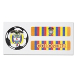 Colombia Sport Strips Eyeblacks Four Pair