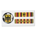 Germany Sport Strips Eyeblacks Four Pair