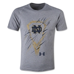 Under Armour Notre Dame Lacrosse Youth Tech T-Shirt (Gray)