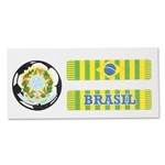 Brazil Sport Strips Eyeblacks Four Pair