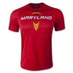 Under Armour Maryland Lacrosse Tech T-Shirt (Red)