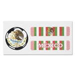 Mexico Sport Strips Eyeblacks Four Pair