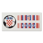 Croatia Sport Strips Eyeblacks Four Pair