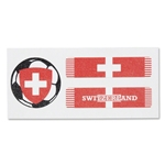 Switzerland Sport Strips Eyeblacks Four Pair