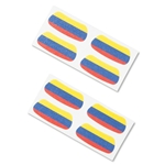 Colombia Flags Eyeblacks