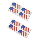 USA Flags Eyeblacks (Four Pack)