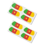 Cameroon Flag Eyeblacks