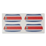 Costa Rica Flags Eyeblacks