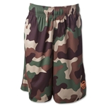 Warrior Youth Camo Short (Brown)