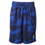 Warrior Youth Camo Short (Royal)