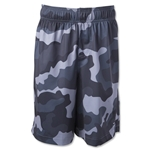Warrior Youth Camo Short (Gray)