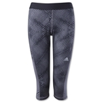 adidas TechFit Women's Capri Tight Energy Print (Black)