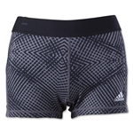 adidas TechFit 3 Women's Boy Short Energy Print (Black)