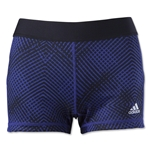 adidas TechFit 3 Boy Short-Energy Print (Purple)