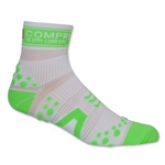 Compressport Racing Sock V2 Run High Cut (Wh/Gr)