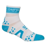 Compressport Racing Sock V2 Run High Cut (Wh/Sky)