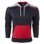 adidas Ultimate Fleece Pullover Hoody-Linear Logo (Blk/Red)