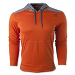 adidas Ultimate Fleece Pullover Hoody (Orange)