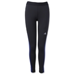 adidas Women's Techfit Long Tight (Blk/Pur)