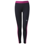 adidas Women's Techfit Long Tight (Black/Pink)