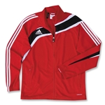 adidas Tiro Training Jacket (Red)