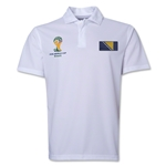 Bosnia-Herzegovina 2014 FIFA World Cup Polo (White)