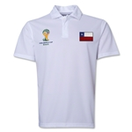 Chile 2014 FIFA World Cup Polo (White)