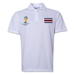 Costa Rica 2014 FIFA World Cup Polo (White)