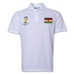 Ghana 2014 FIFA World Cup Polo (White)