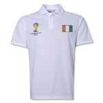 Cote d'Ivoire 2014 FIFA World Cup Polo (White)