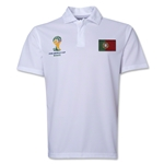 Portugal 2014 FIFA World Cup Polo (White)