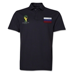 Russia 2014 FIFA World Cup Polo (Black)