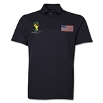 USA 2014 FIFA World Cup Polo (Black)