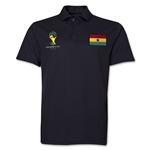 Ghana 2014 FIFA World Cup Polo (Black)