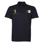 Algeria 2014 FIFA World Cup Polo (Black)