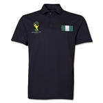 Nigeria 2014 FIFA World Cup Polo (Black)
