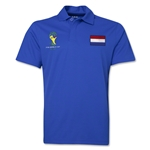 Netherlands 2014 FIFA World Cup Polo (Royal)