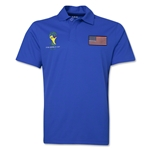 USA 2014 FIFA World Cup Polo (Royal)