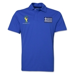 Greece 2014 FIFA World Cup Polo (Royal)