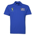 Uruguay 2014 FIFA World Cup Polo (Royal)