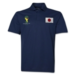 Japan 2014 FIFA World Cup Polo (Navy)