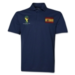 Spain 2014 FIFA World Cup Polo (Navy)