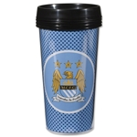 Manchester City Bullseye Travel Mug